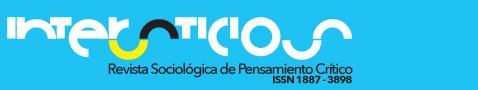 INTERSTICIOS. Revista Sociológica de Pensamiento Crítico. ISSN 1887-3898